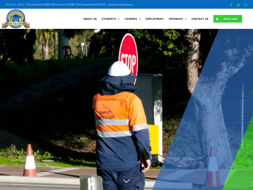 Star Training – Traffic control training Parramatta