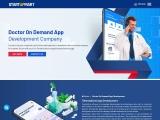 Doctor On-Demand App Development Company – Startupmart