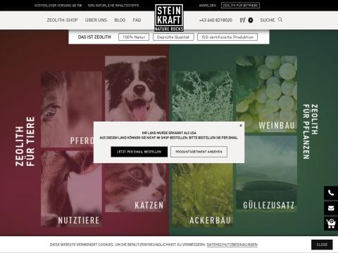 STEINKRAFT-Zeolith. Die Urkraft der Natur für Mensch, Tier & Pflanze