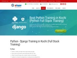 Best Python Training in Kochi