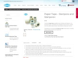 Paper Tape – Steripore and Steripore+ – Sterimed Group