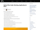 Optical Fibre Cable (OFC): Working, Applications & Real-life Usage