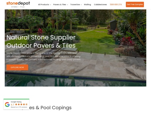 Stonedepo – Natural Stone Supplier Sydney