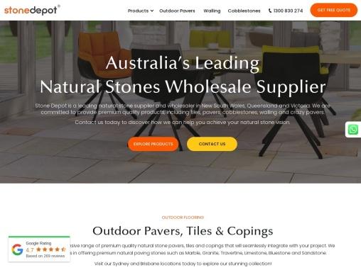 Stone Depot – Natural Stone Supplier Sydney