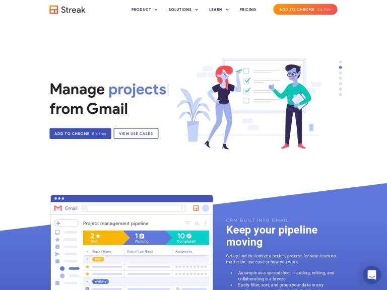 Streak Discount: Magnificent Coupon on CRM for Gmail screenshot