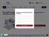 amity solved assignment for you