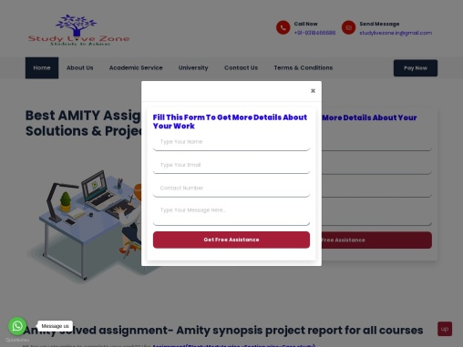 amity online assignments for you