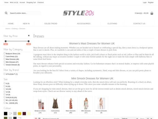Mini Smock Dress    for women UK