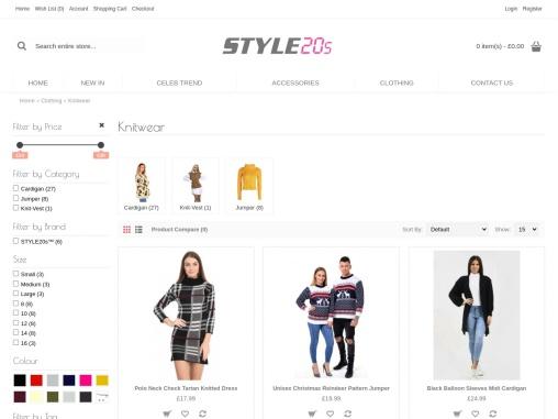 womens online knitted jumper dress uk