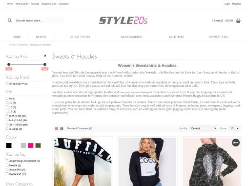 Oversized Women Baggy Sweatshirts UK