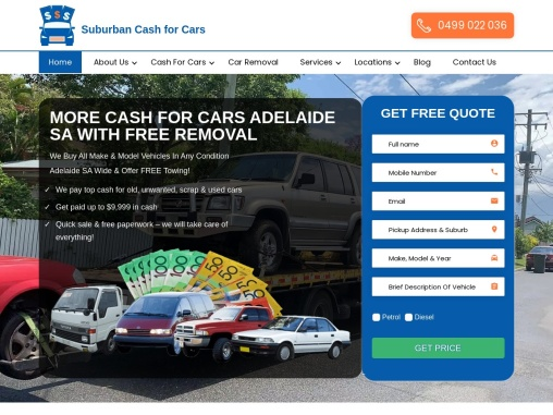 cash for cars removal adelaide