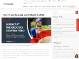 How To Build & Launch An App Like Instacart