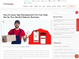 Liquor Delivery App Development Company