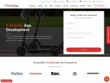 Electric scooter app development