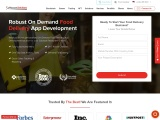 On Demand Food Delivery Application Development Company