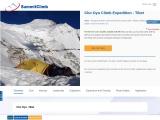 Routes to climb  Mount Cho Oyu Peak