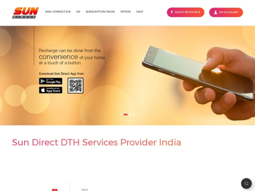 Subscribe to the best DTH service provider in India