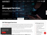 sap managed services | managed services for Sap erp | suneratech