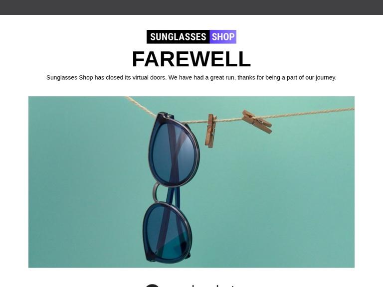 Sunglasses Shop Voucher Codes screenshot