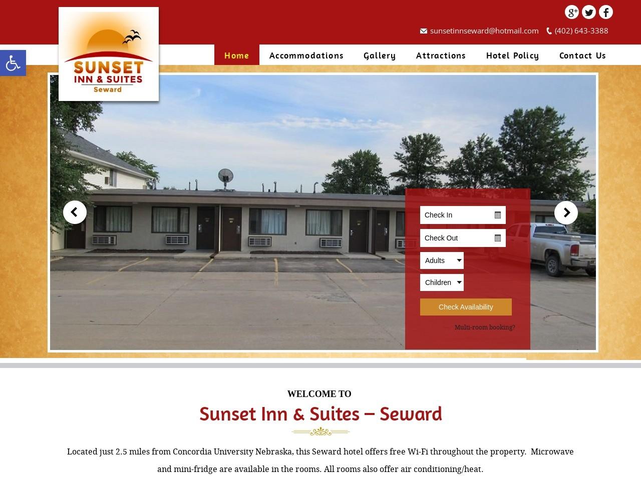 Best Place to Stay (Accommodations) Near Seward, Nebraska