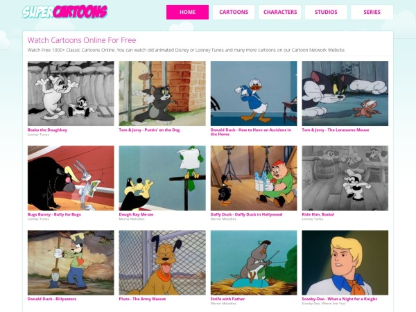 Super cartoons - Best Cartoons Streaming Sites to Watch Cartoon Online