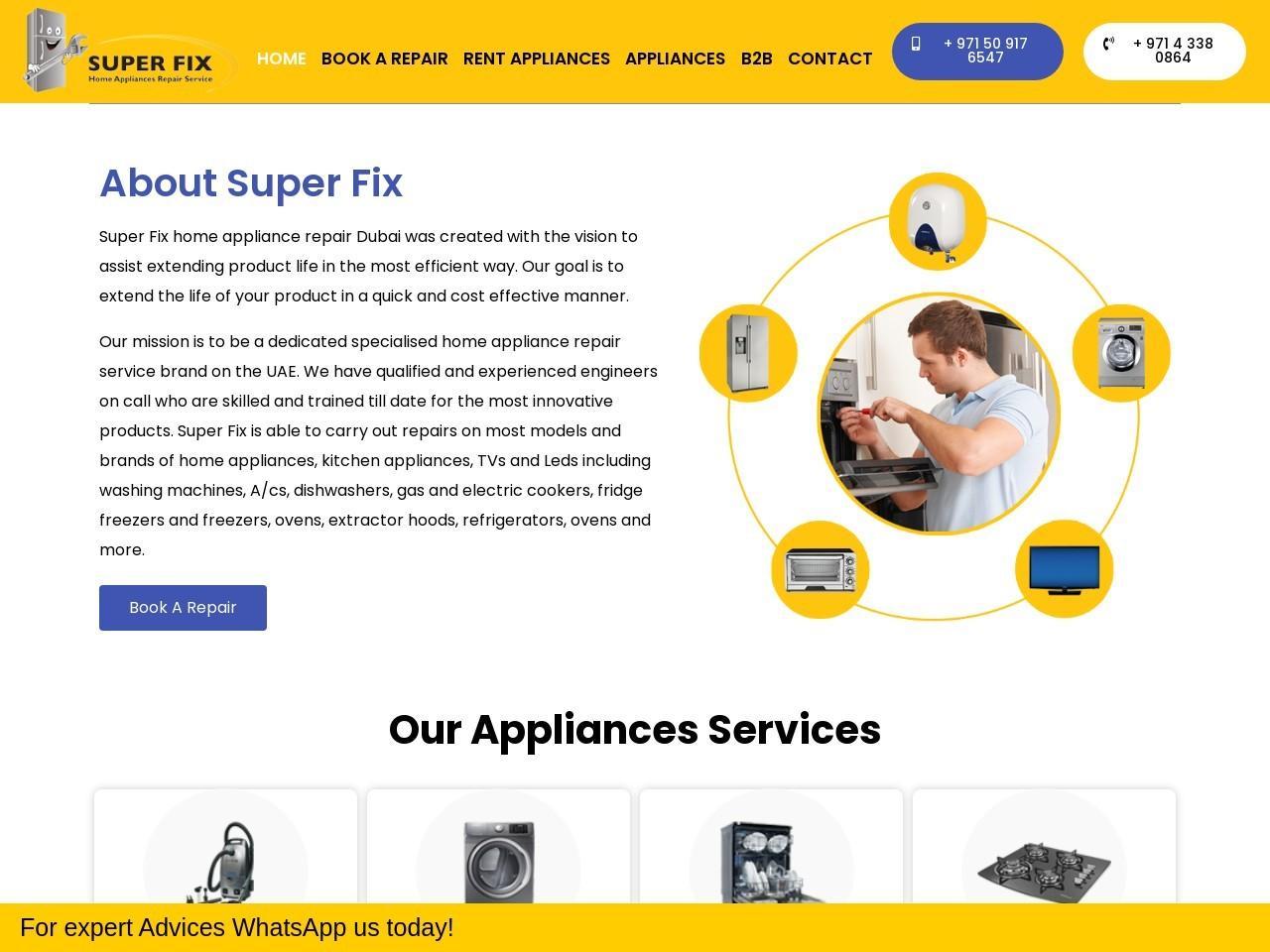 Heater Repair in Dubai | Super Fix Appliances
