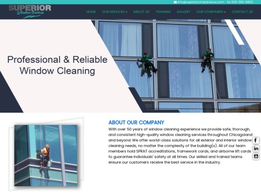SWS – Superior Window Services | High Rise Window Cleaning Services
