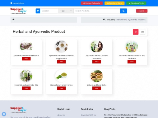 Ayurvedic Products Suppliers in India