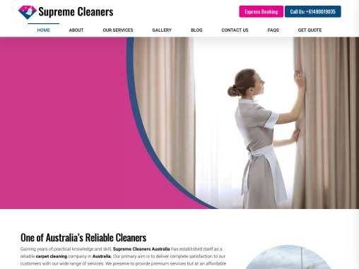 Supreme cleaners  carpet cleaning