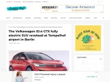 The Volkswagen ID.4 GTX fully electric SUV
