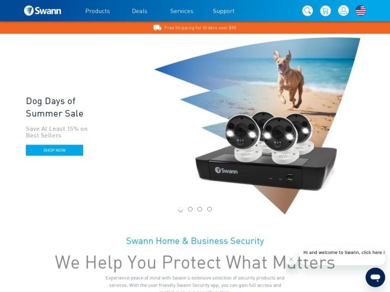 Swann UK screenshot