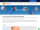 Best Vocal Cord Disorder Ayurvedic Clinic and Center in Hydernagar, Hyderabad