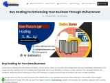 Buy Hosting is helpful for your Business From Onlive Server