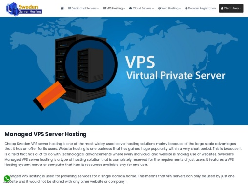 Managed VPS Server With Higher Protection