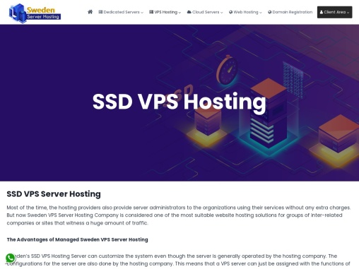 Grab SSD VPS Hosting with High Security
