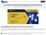 Disseminate Your Business with Thailand VPS hosting By Onlive Server