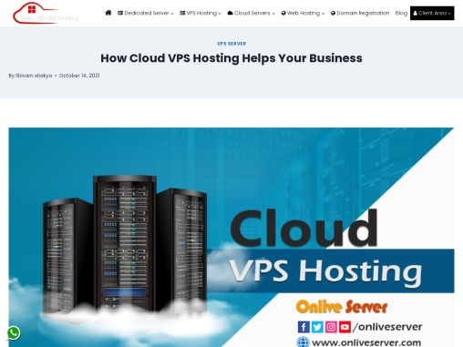 Are you worried about your side? So Onlive Server brings you Cloud VPS Hosting.