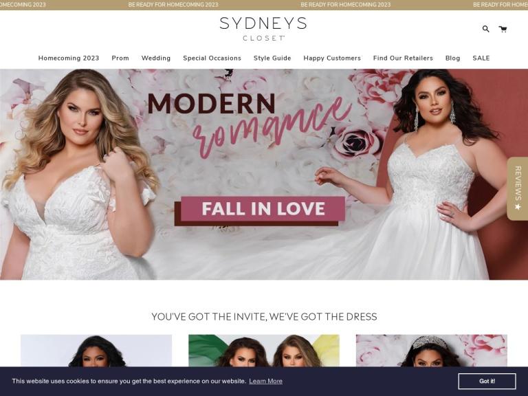 SydneysCloset.com Coupon Codes