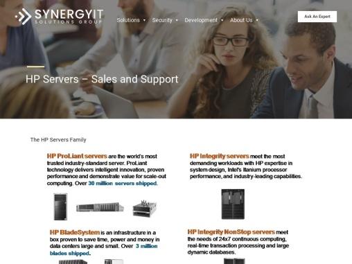 HP Server Tech Support Toronto Canada