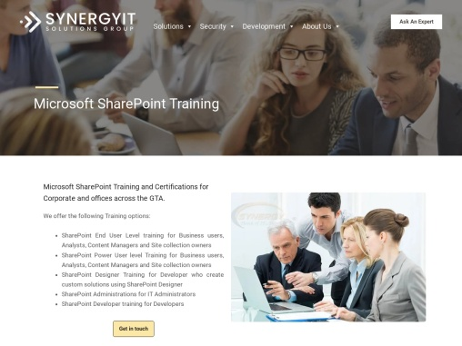 Microsoft SharePoint Training and Courses