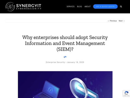 Security Information and Event Management Solutions | SIEM