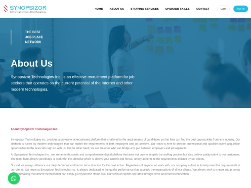 Synopsizor Technologies Inc.