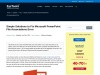 How to Fix Microsoft Powerpoint File Associations Error