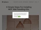 mdf wall panelling kits
