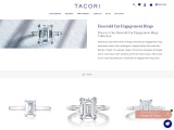 Emerald Cut Diamond Rings | Wedding Collection | Tacori