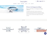 Prince Cut Engagement Rings | Tacori