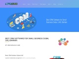 BEST CRM SOFTWARE FOR SMALL BUSINESS DUBAI, UAE, BAHRAIN