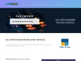 Tally ERP9 Password Recovery Services