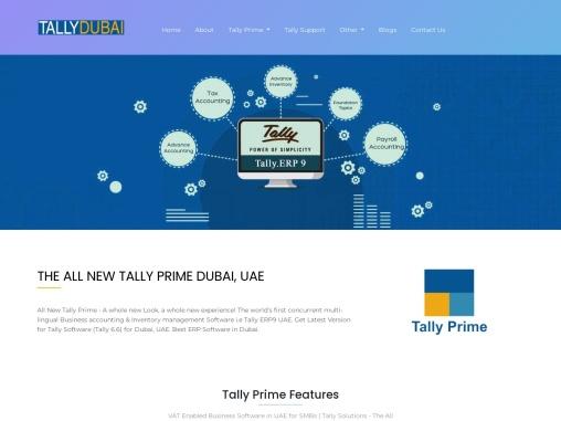 THE ALL NEW TALLY PRIME DUBAI, UAE