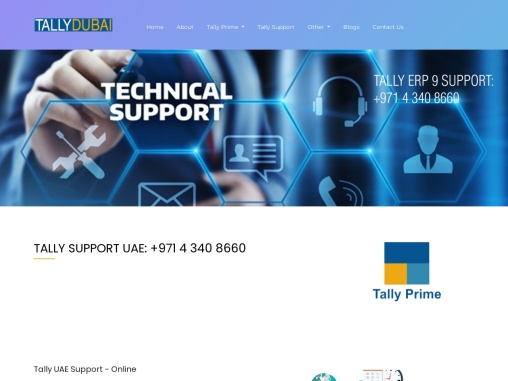 Tally UAE Support – Online,Tally ERP 9 Support UAE – On-site